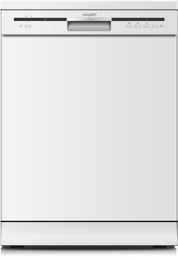 Exquisit Geschirrspüler GSP 6012, Freistehend, Unterbaufähig, A++