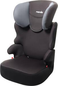 Osann Kindersitz BeFix SP Gris - mit 5-fach höhenverstellbare Kopfstütze - 3 bis 12 Jahren (15 - 36 kg) - anthrazit , schwarz , grau