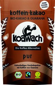Koawach Pur kakaohaltiges Getränkepulver mit Guarana | Organic | Fairtrade | 100g