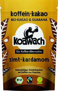 Koawach Zimt & Kardamom kakaohaltiges Getränkepulver mit Guarana | Organic | Fairtrade | 100g