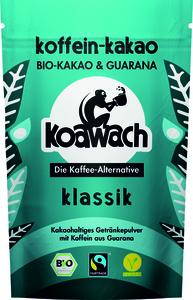 Koawach Klassik kakaohaltiges Getränkepulver mit Guarana | Organic | Fairtrade | 100g