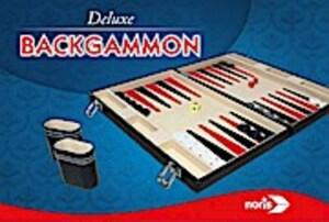 Noris Spiele Noris 606101712 Deluxe Backgammon,Familienspiel