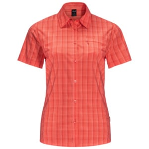 Jack Wolfskin Funktions-Bluse Frauen EL Camino Stretch Shirt S rot