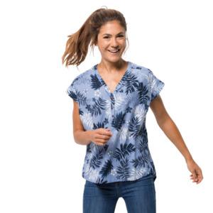 Jack Wolfskin Funktions-Bluse Frauen Victoria Leaf Shirt Women XS blau