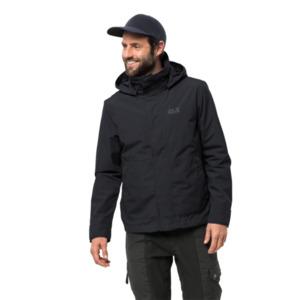 Jack Wolfskin Hardshell-Jacke Männer Byron Jacket Men S schwarz