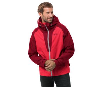 Jack Wolfskin Hardshell-Jacke Männer Apex Summer Peak Jacket Men XL rot