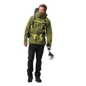 Jack Wolfskin Hardshell-Jacke Männer THE Humboldt Jacket XXL grün