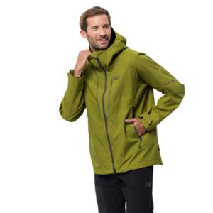 Jack Wolfskin Hardshell-Jacke Männer Skei Trail Jacket Men M grün