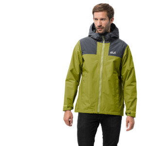 Jack Wolfskin Hardshell-Jacke Männer Jasper Peak Jacket Men S grün