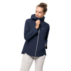 Jack Wolfskin Hardshell-Jacke Frauen Scenic Trail Jacket Women XXL blau