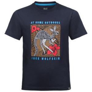 Jack Wolfskin T-Shirt Jungen Kuku Trail T-Shirt Boys 104 blau