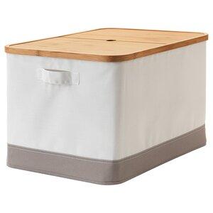 RABBLA                                Kasten mit Deckel, 35x50x30 cm