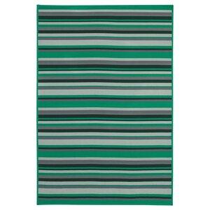 KÄRBÄK                                Teppich flach gewebt, drinnen/drau, grün, 70x100 cm