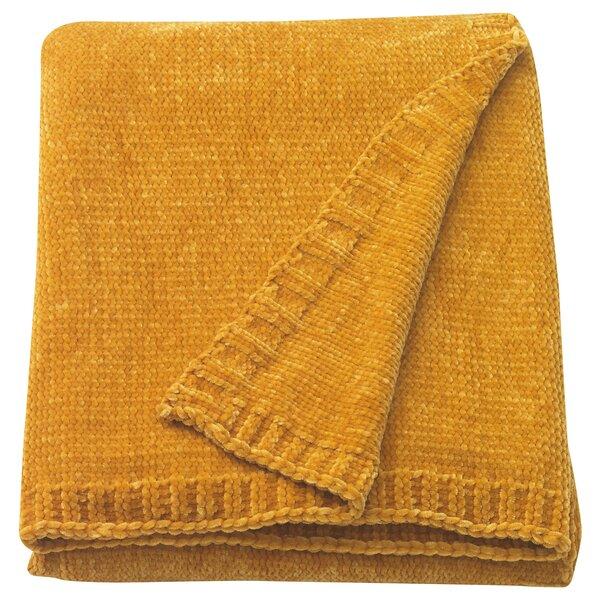 MIALOTTA                                Plaid, gelb, 130x170 cm