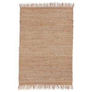 ÖVERALLT                                Teppich flach gewebt, natur, 133x195 cm