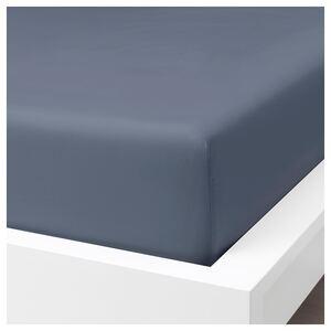 SÖMNTUTA                                Spannbettlaken, blaugrau, 90x200 cm