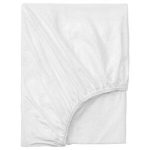 VÅRVIAL                                Spannbettlaken für Tagesbett, weiß, 80x200 cm