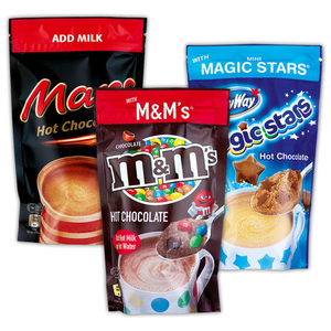 Mars/MM's/Milky Way Hot Chocolate