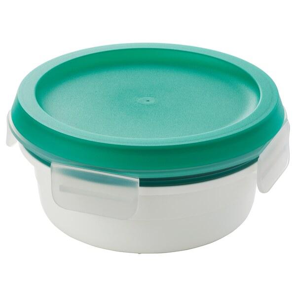IKEA 365+                                Lunchbox mit Extrafach, rund, 450 ml