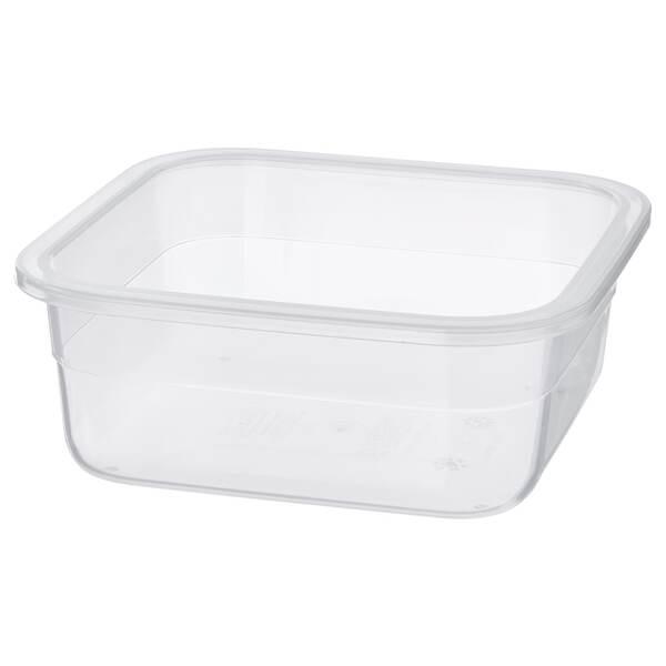 IKEA 365+                                Behälter, quadratisch, Kunststoff, 750 ml