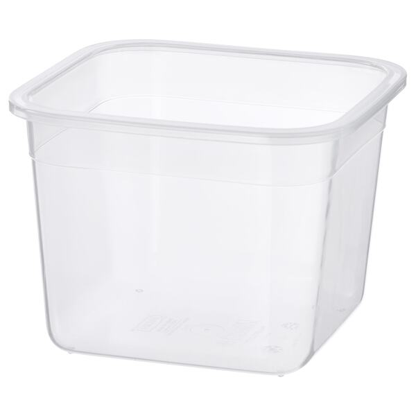 IKEA 365+                                Behälter, quadratisch, Kunststoff, 1.4 l