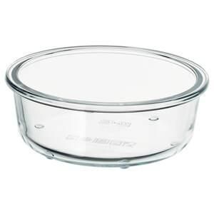 IKEA 365+                                Behälter, rund, Glas, 400 ml