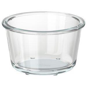 IKEA 365+                                Behälter, rund, Glas, 600 ml