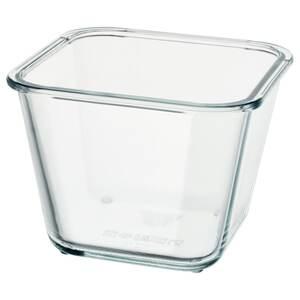 IKEA 365+                                Behälter, quadratisch, Glas, 1.2 l