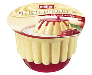 müller®  Pudding mit Soße