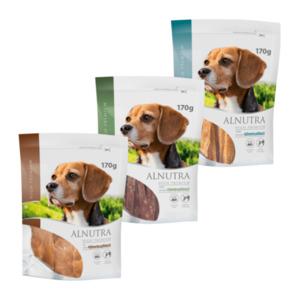ALNUTRA     High-Premium-Hühnchen- / -Enten-Snacks