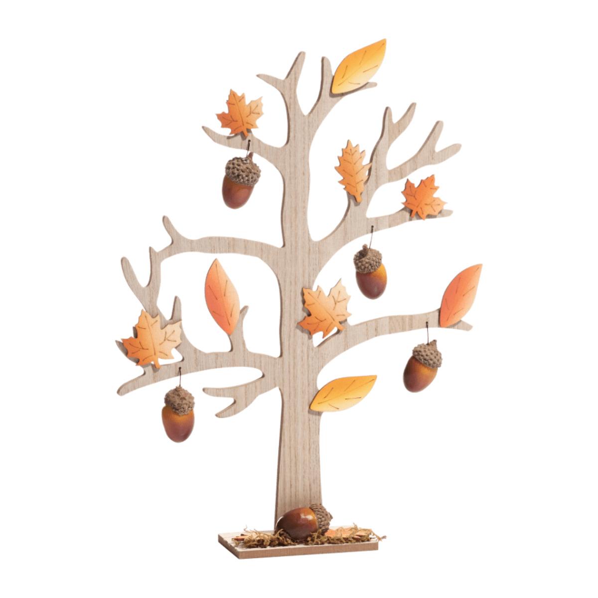 Bild 4 von LIVING ART     Holz-Herbstdekoration