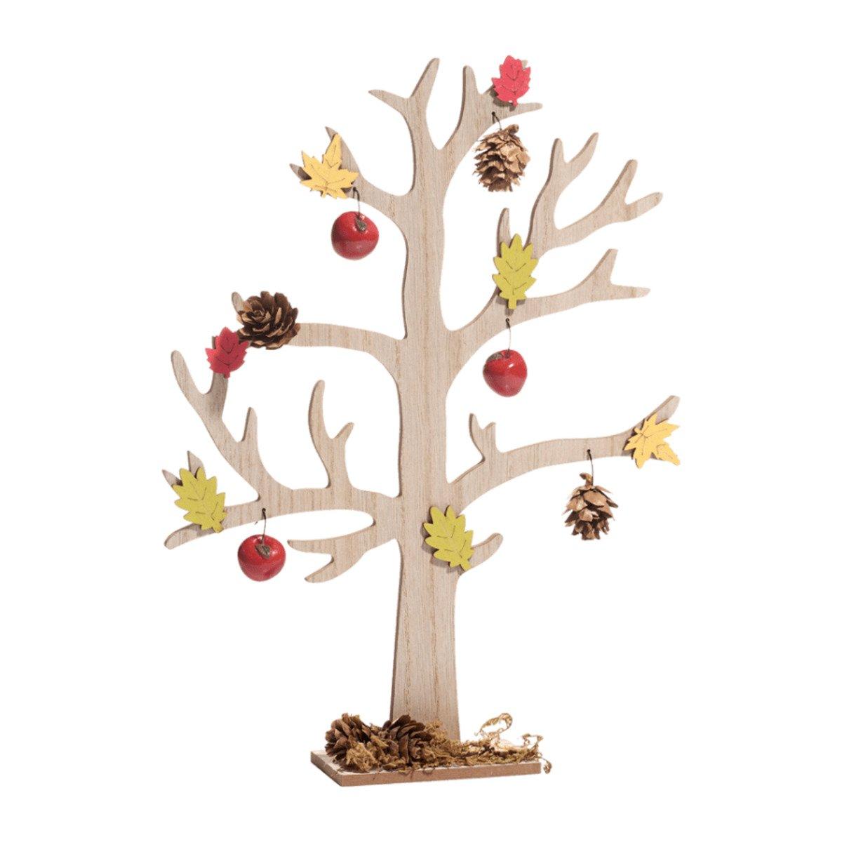 Bild 5 von LIVING ART     Holz-Herbstdekoration