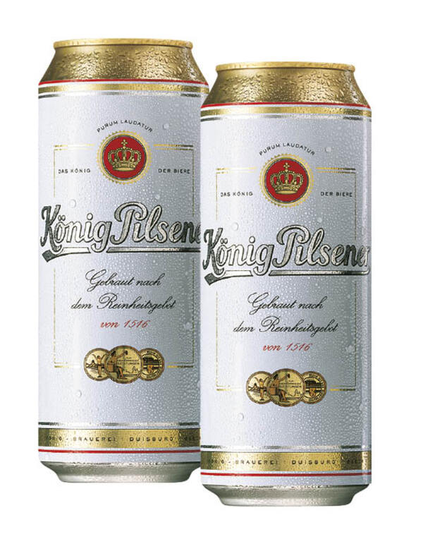 König Pilsener Dose 5+1