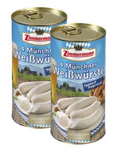 Zimmermann Weißwürste