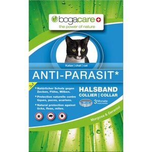 bogacare® ANTI-PARASIT HALSBAND Katze 35 cm