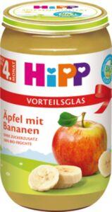 HiPP Bio Frucht Apfel mit Bananen, 250 g