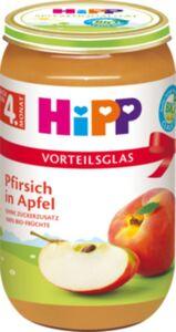 HiPP Bio Frucht Pfirsich in Apfel, 250 g