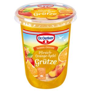 Dr.Oetker Pfirsich-Orange-Apfel Grütze 500g