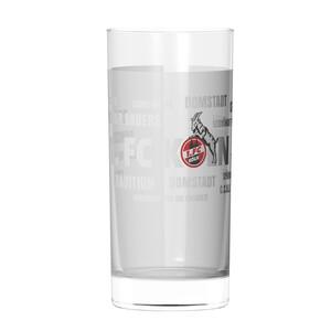 """1. FC Köln Wasserglas """"Tradition"""" 2er Set"""