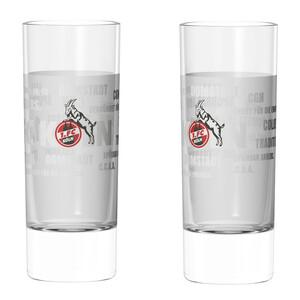 "1. FC Köln Schnapsglas ""Tradition"" 2er-Set"