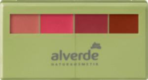 alverde NATURKOSMETIK Lippenstift Matt & Shiny Lipstick Kit