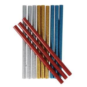 Easy Work Mini-Glitzer-Heißklebesticks 7,2x100mm 12 Stück