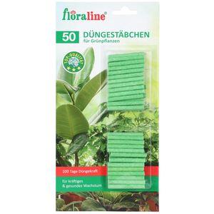 Floraline Düngestäbchen für Grünpflanzen 50 Stück