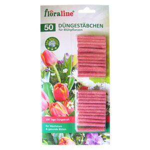 Floraline Düngestäbchen für Blühpflanzen 50 Stück