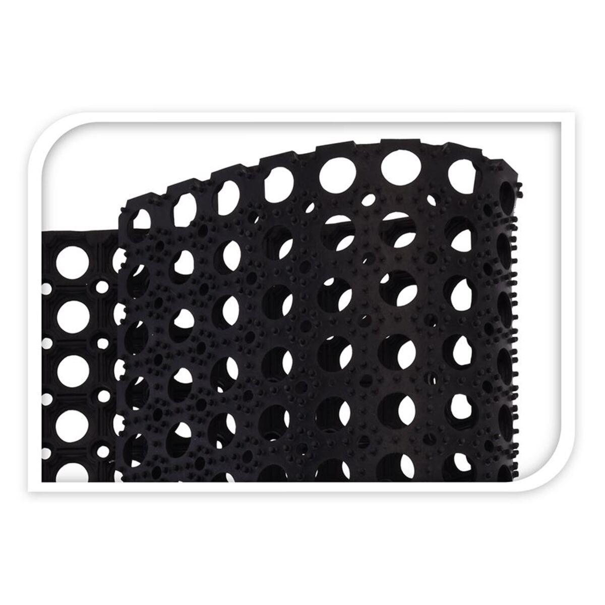 Bild 3 von Gummi-Türmatte 120x80x1,2cm Schwarz