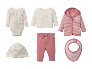 LUPILU® Baby Mädchen Set 6-teilig