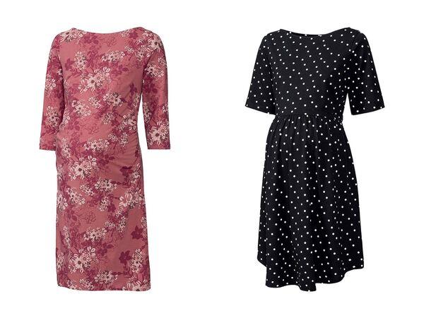 ESMARA® PURE COLLECTION 2 Damen Umstands-Kleider von Lidl ...