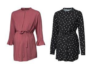 ESMARA® PURE COLLECTION Damen Umstands-Bluse