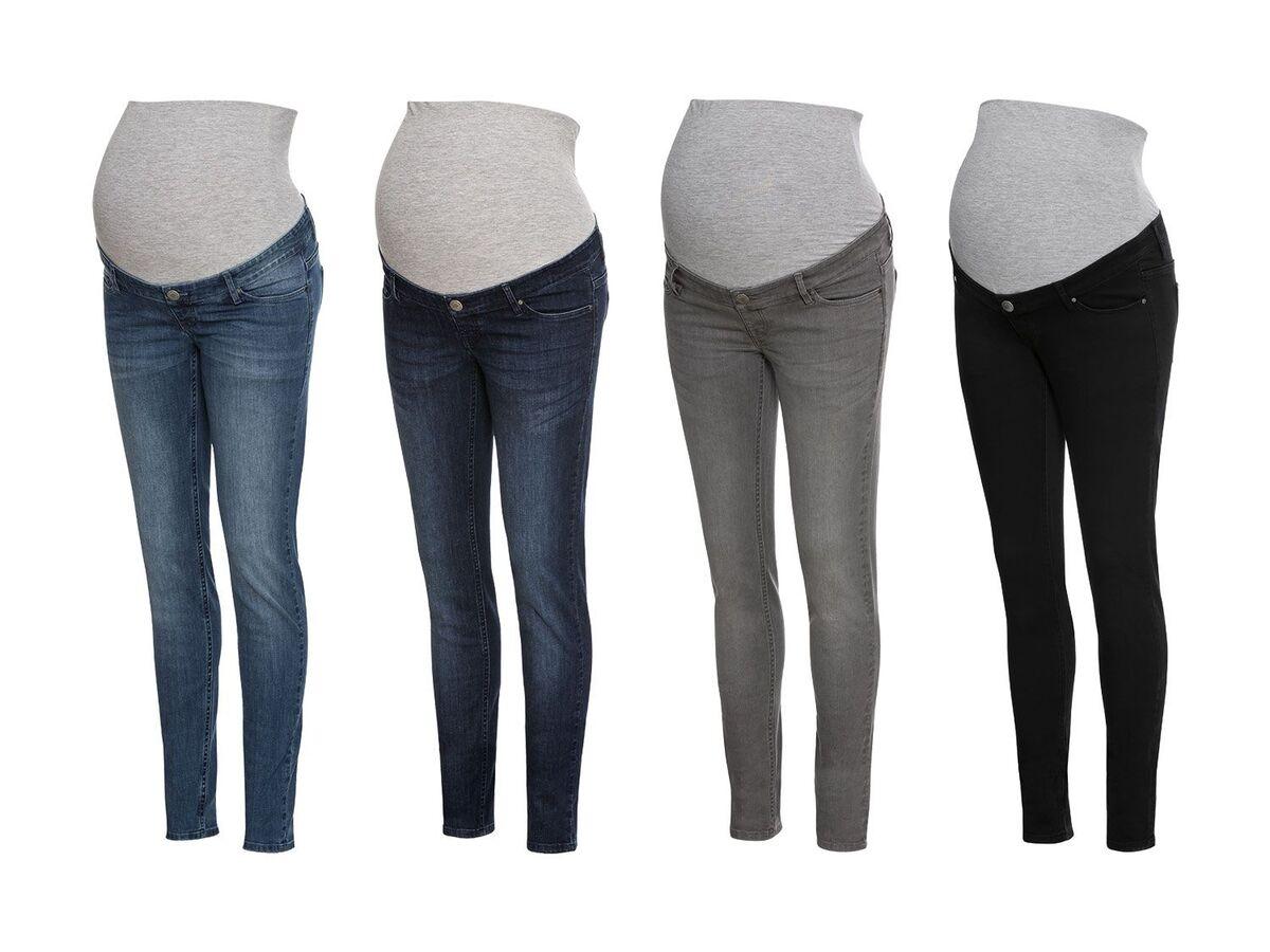 Bild 1 von ESMARA® PURE COLLECTION Damen Umstands-Jeans