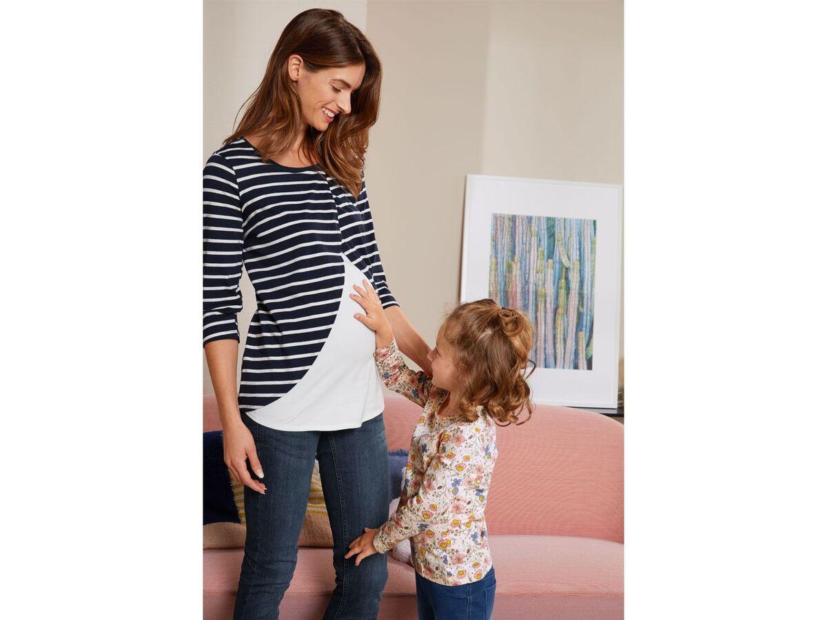 Bild 2 von ESMARA® PURE COLLECTION Damen Umstands-Jeans